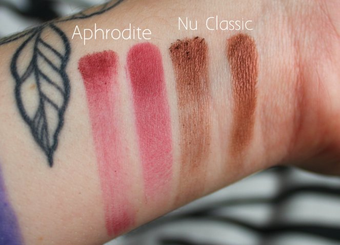 Eyeshadow Swatches 4 Aphrodite Nu Classic