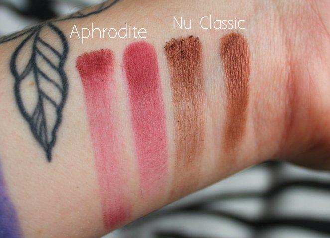 Eyeshadow Swatches 4 Aphrodite Nu Classic