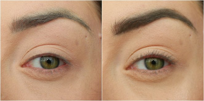 PS...Brow Pencil Dark Before After