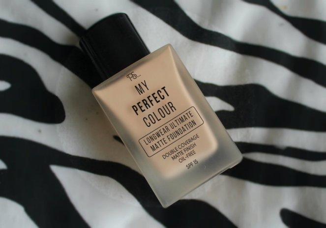 PS...My Perfect Colour Longwear Ultimate Matte Foundation Porcelain