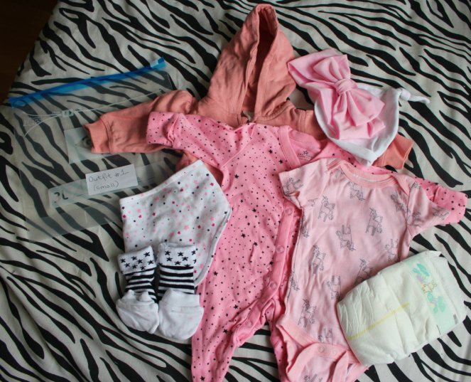 What Is In My Hospital Bag Labour Ward Baby Clothes