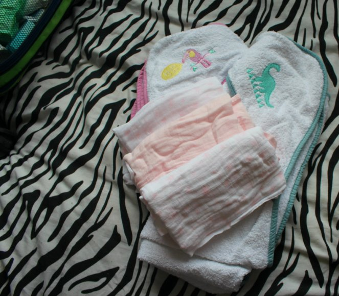 What Is In My Hospital Bag Pre Labour and Ward Baby Towels