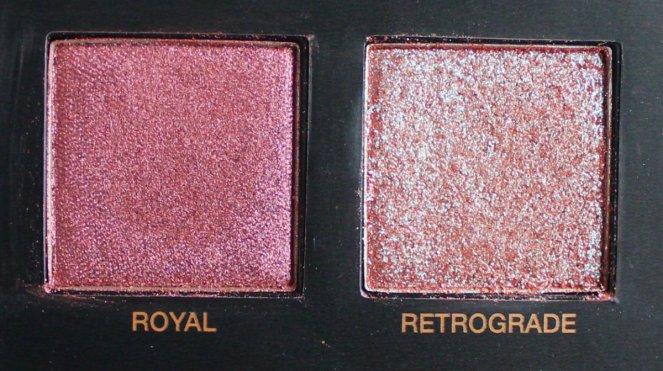 Huda Beauty Desert Dusk Eyeshadow Palette 6 Royal Retrograde