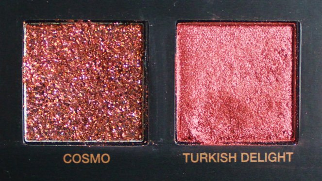 Huda Beauty Desert Dusk Eyeshadow Palette 8 Cosmo Turkish Delight