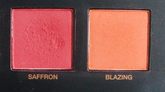 Huda Beauty Desert Dusk Eyeshadow Palette 9 Saffron Blazing