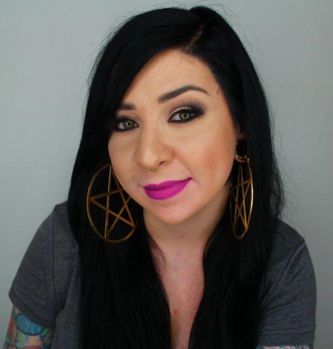 Kat Von D Everlasting Liquid Lipstick L.U.V. Full Facw