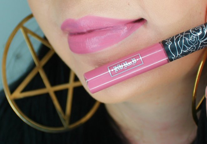 Kat Von D Everlasting Liquid Lipstick Lovesick Swatch 2