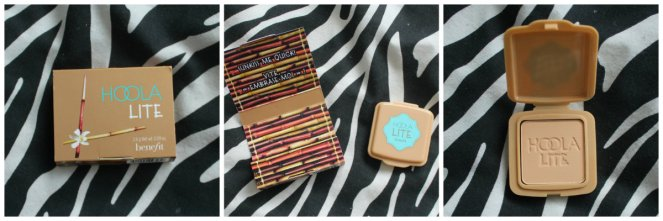 Benefit Hoola Lite Collage