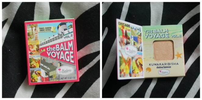 thebalm voyage Collage