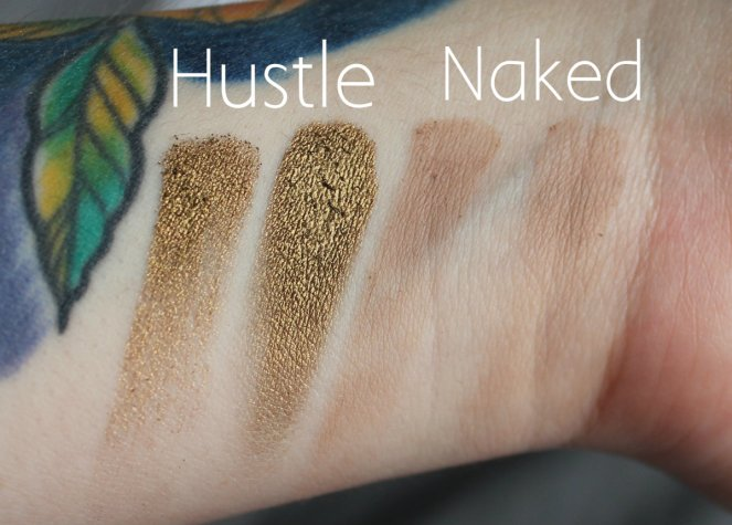 BPerfect Cosmetics x Stacey Marie Carnival Palette Hustle Naked Swatches