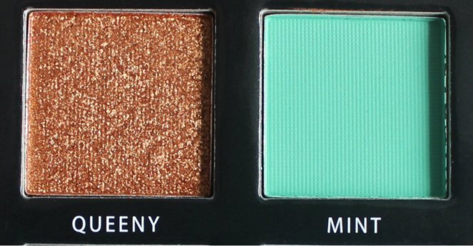 BPerfect Cosmetics x Stacey Marie Carnival Palette Queeny Mint