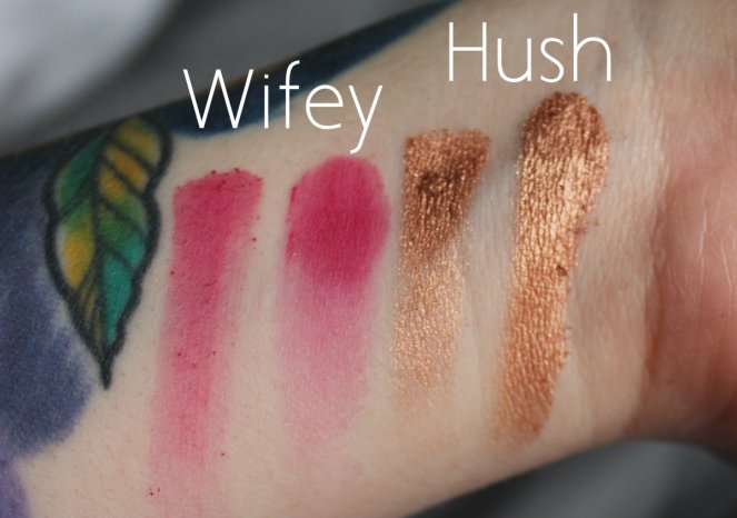BPerfect Cosmetics x Stacey Marie Carnival Palette Wifey Hush Swatches