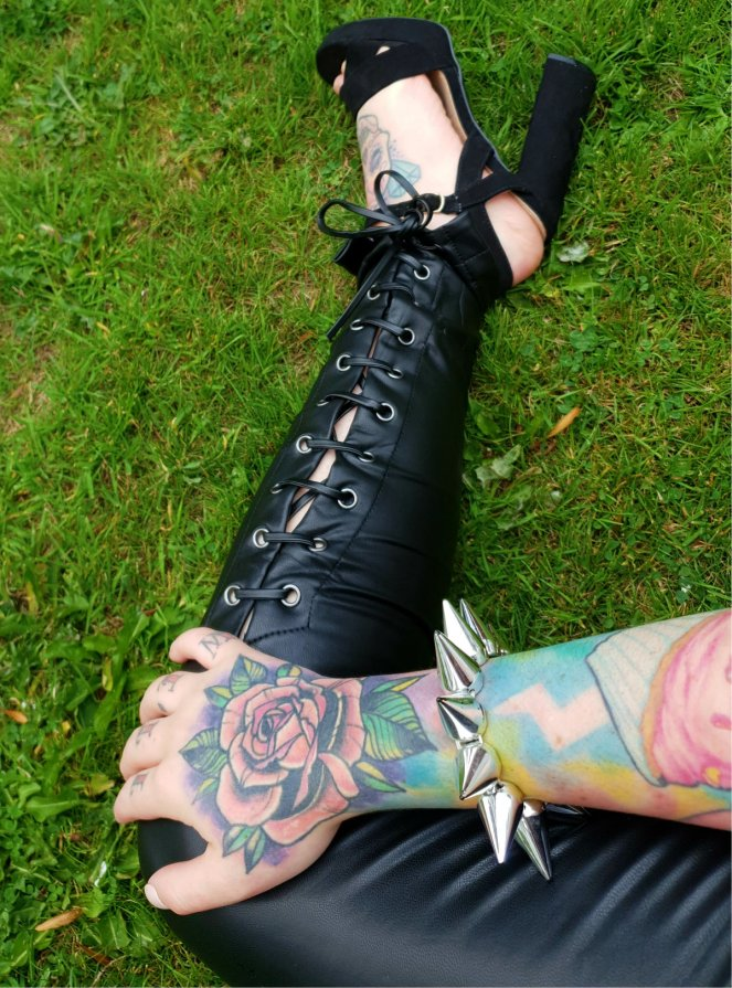 Leather Trousers 1