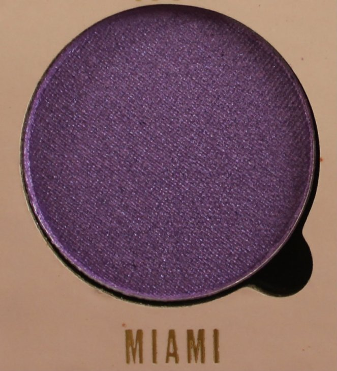 Belle Jorden x Obsession Eyeshadows Miami