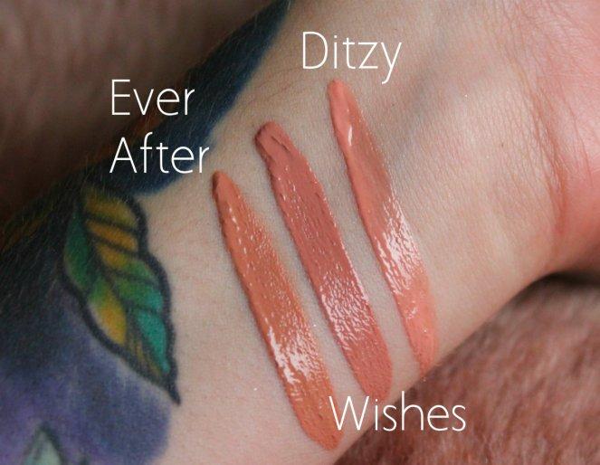 Lip Set Swatches